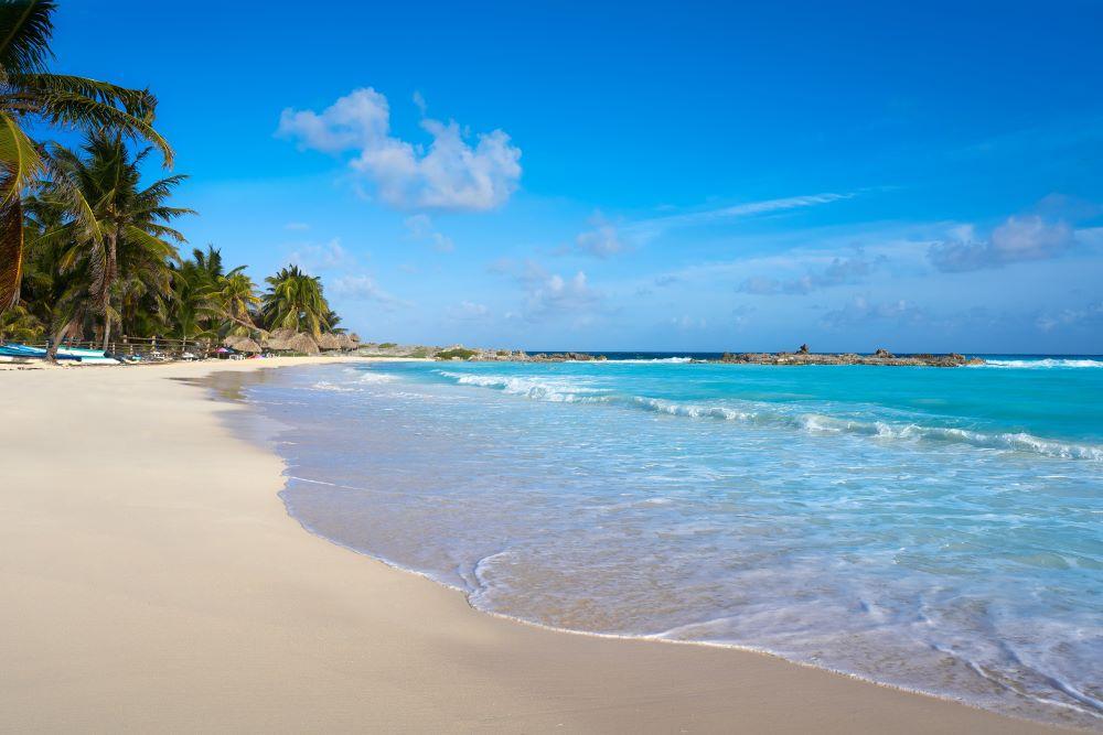 Come raggiungere la spiaggia di El Cielo a Cozumel